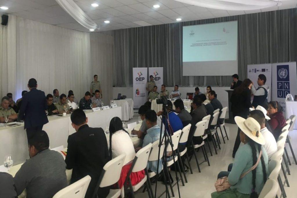 UNDP Bolivia elections Mauro Calvo